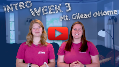 WEEK 3 – INTRODUCTION!